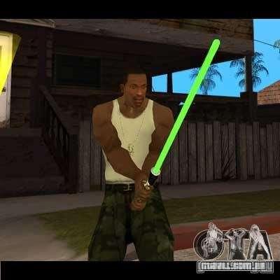 Sabre de luz de STAR WARS para GTA San Andreas
