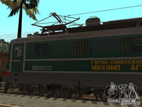 Chs2 para GTA San Andreas esquerda vista