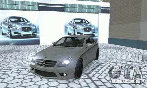 Mercedes-Benz CLS 63 AMG para GTA San Andreas vista interior