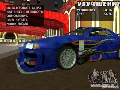 SA HQ Wheels para GTA San Andreas por diante tela