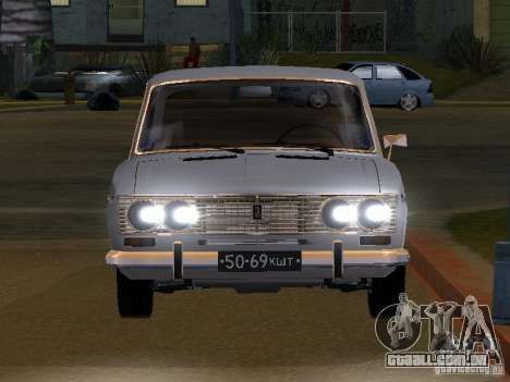 VAZ 2103 baixo clássico para GTA San Andreas vista traseira