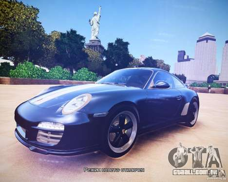 Porsche 911 Sport Classic 2011 v2.0 para GTA 4 esquerda vista