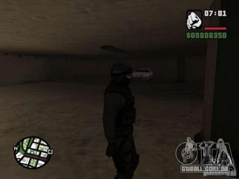 Umbrella soldier para GTA San Andreas terceira tela