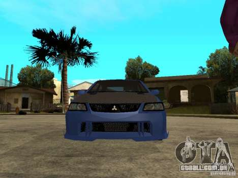 Mitsubishi Lancer EVO VIII Tuned para GTA San Andreas