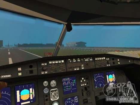 Airbus A330-300 Turkish Airlines para vista lateral GTA San Andreas