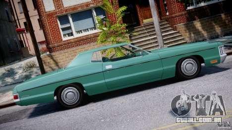 Mercury Monterey 2DR 1972 para GTA 4 esquerda vista