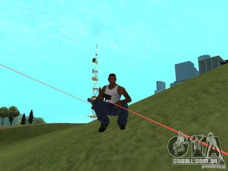 Laser Weapon Pack para GTA San Andreas terceira tela