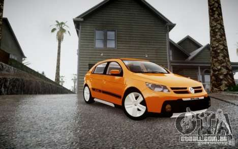 Volkswagen Gol Rallye 2012 para GTA 4 traseira esquerda vista
