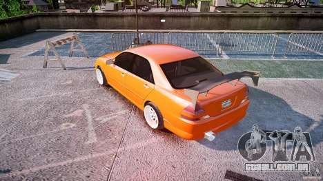 Toyota JZX110 para GTA 4