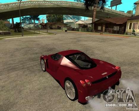 Ferrari ENZO 2003 v.2 final para GTA San Andreas esquerda vista