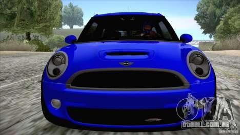 MINI Cooper Clubman JCW 2011 para GTA San Andreas vista traseira
