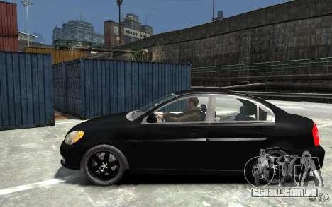 Hyundai Accent 2006 para GTA 4 esquerda vista