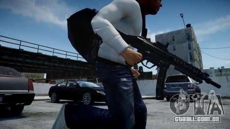 MP5 (CoD: Modern Warfare 3) para GTA 4 por diante tela