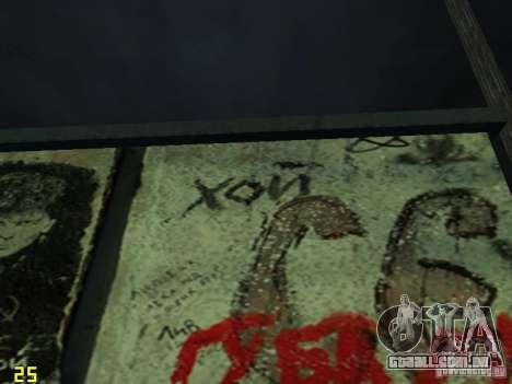Parede da lembrança George Hoey para GTA San Andreas segunda tela