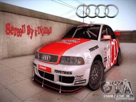 Audi S4 Galati Race para GTA San Andreas