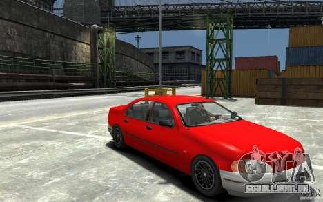 Kuruma de GTA 3 para GTA 4 vista de volta