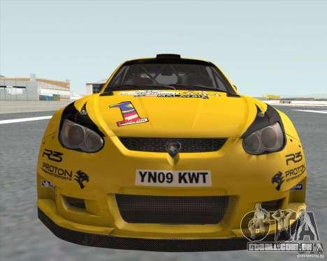 Satria Neo S2000 para GTA San Andreas traseira esquerda vista