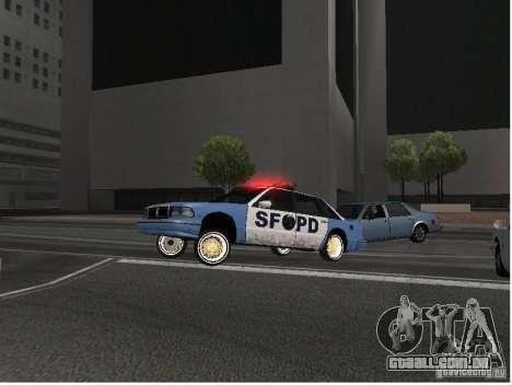 Deluxo Wheels Mod para GTA San Andreas segunda tela