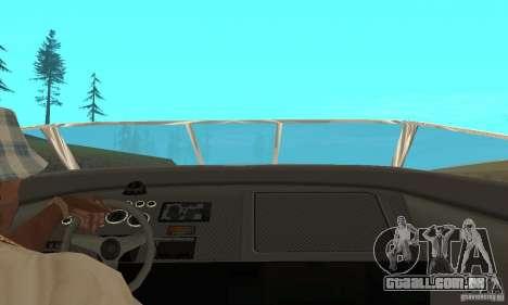 GTAIV TBOGT Floater para GTA San Andreas vista traseira