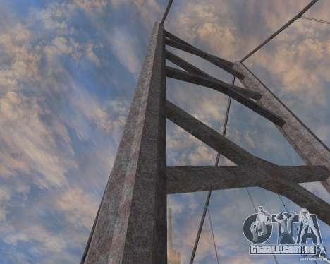 Novas texturas de três pontes em SF para GTA San Andreas terceira tela