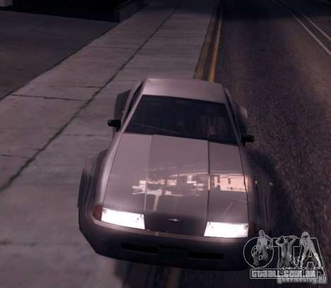 Elegy Wide Body para GTA San Andreas esquerda vista