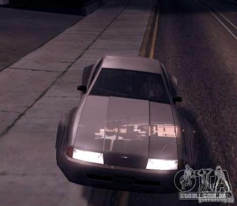 Elegy Wide Body para GTA San Andreas esquerda vista