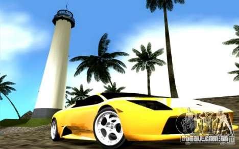 2005 Lamborghini Murcielago para GTA Vice City vista direita