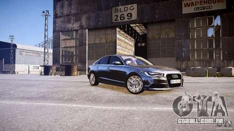 Audi A6 v1.0 para GTA 4 esquerda vista