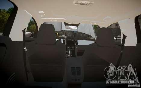 Ford Taurus SHO 2010 para GTA 4 interior