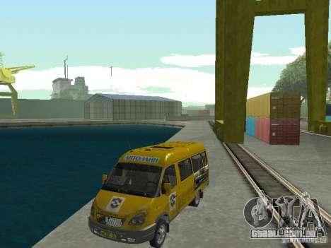 Táxi de gazela para GTA San Andreas