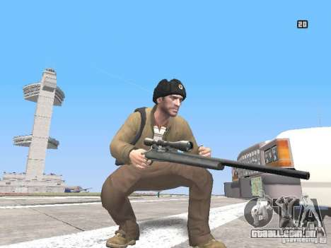 HQ Weapons pack V2.0 para GTA San Andreas quinto tela