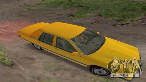 Buick Roadmaster 1994 para GTA Vice City vista traseira