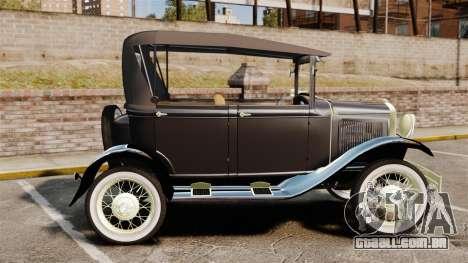 Ford Model T 1924 para GTA 4 esquerda vista