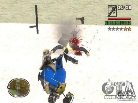 Robô de Portal 2 # 3 para GTA San Andreas terceira tela