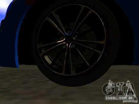 Toyota GT86 Limited para GTA San Andreas interior