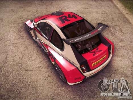 Colin McRae R4 para GTA San Andreas vista superior