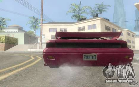 New Alpha para GTA San Andreas vista direita