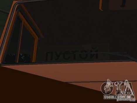 KAMAZ 53215 para vista lateral GTA San Andreas