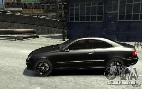Mercedes-Benz CLK55 AMG 2003 v1 para GTA 4 esquerda vista