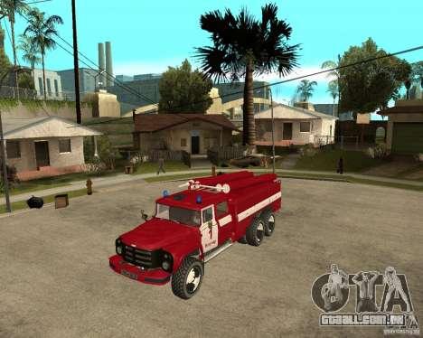 Fogo de AC 133GÂ ZIL para GTA San Andreas