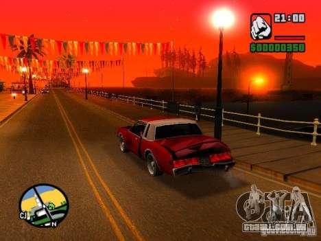 Timecyc BETA 2.0 para GTA San Andreas terceira tela