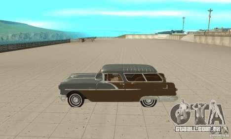 Pontiac Safari 1956 para GTA San Andreas esquerda vista