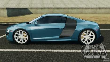Audi R8 5.2 Stock Final para GTA 4 esquerda vista