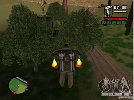 Project Oblivion 2007 para GTA San Andreas quinto tela