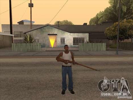 Novo pacote de armas nacionais para GTA San Andreas sétima tela