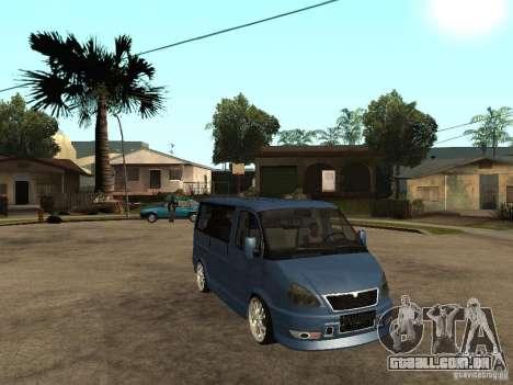 Gaz-2217-Barguzin Sable para GTA San Andreas vista direita
