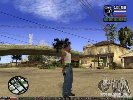 Armas de Pak para GTA San Andreas sexta tela