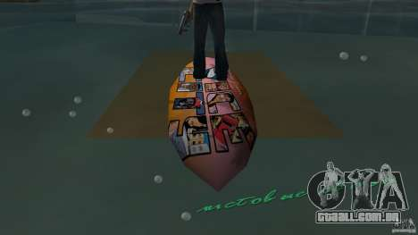 Surfboard 1 para GTA Vice City
