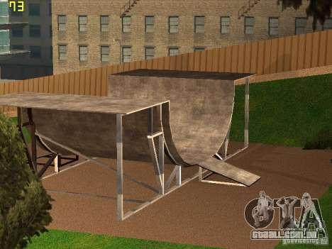 New SkatePark v2 para GTA San Andreas terceira tela