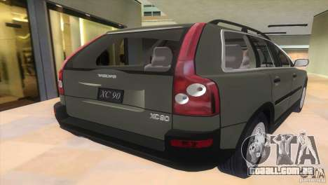 Volvo XC90 para GTA Vice City deixou vista